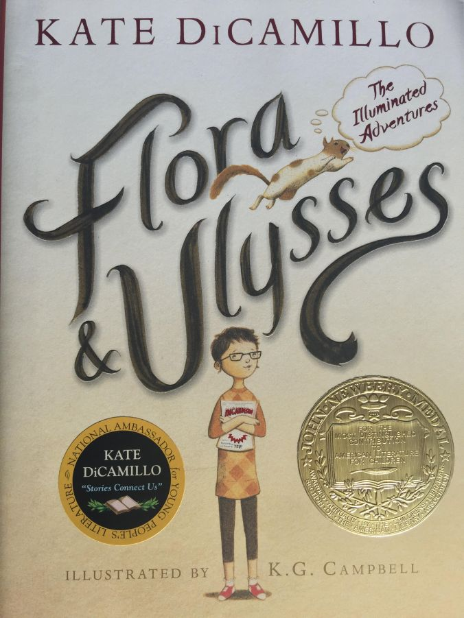 Flora & Ulysses Cover