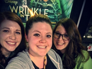 Team Friendship Wrinkle in Time